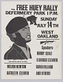 View Poster for a Free Huey Rally at De Fremery Park digital asset number 0