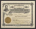 View Stock certificate for the Lincoln Motion Picture Company. digital asset number 0