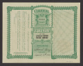 View Stock certificate for the Lincoln Motion Picture Company. digital asset number 1