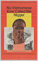 View Film poster for No Vietnamese Ever Called Me Nigger digital asset number 0