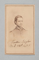 View Carte-de-visite of Preston Taylor as a drummer with the 116th USCT digital asset number 0