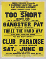View Poster for a concert at Club Paradise in Memphis digital asset number 0