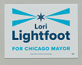 View Yard sign for Lori Lightfoot mayoral campaign digital asset number 0