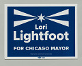 View Yard sign for Lori Lightfoot mayoral campaign digital asset number 1