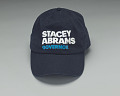 View Navy baseball cap from the 2018 Stacey Abrams Georgia gubernatorial campaign digital asset number 0