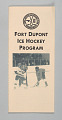 View Brochure for the Fort Dupont Hockey Club digital asset number 0