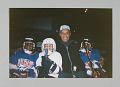 View Color photograph of Willie O'Ree and Ice Hockey in Harlem players digital asset number 0
