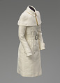 View Ivory coat worn by Kerry Washington as Olivia Pope on Scandal digital asset number 1