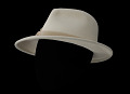 """View White hat and hat box used on the show """"Scandal"""" digital asset number 7"""