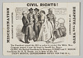 View <I>Civil Rights! Miscegenation Allowed by Congress, Despite the Veto of the President</I> digital asset number 0