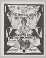"View Flier for ""The Boogie Boys, Mr. Sweety-G, Master Don, and The Death Committee"" digital asset number 0"