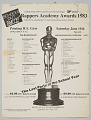 "View Flier/ballot for the ""Rappers Academy Awards 1983"" digital asset number 0"
