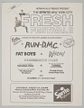 "View Flier for ""The Sprite New York City Fresh Festival II"" digital asset number 0"