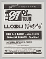 View Flier for the 87 Def Jam Tour at the Oakland Coliseum digital asset number 0