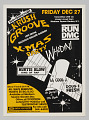 View Flier for Krush Groove Christmas Party at Madison Square Garden digital asset number 0
