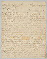 View Letter written by Union soldier John Stagenwalt recounting New Orleans Massacre digital asset number 0