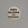 View Pinback button for Dizzy Gillespie digital asset number 0