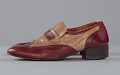 View Red and cream loafers designed by Pierre Cardin and worn by Fats Domino digital asset number 2