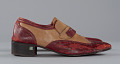 View Red and cream loafers designed by Pierre Cardin and worn by Fats Domino digital asset number 4