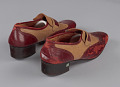 View Red and cream loafers designed by Pierre Cardin and worn by Fats Domino digital asset number 5