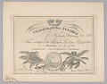 View Membership certificate to the American Colonization Society digital asset number 0