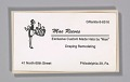 View Business cards from Mae's Millinery Shop digital asset number 0