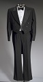 View Black tail coat with white pocket handkerchief worn by Cab Calloway digital asset number 0