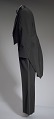 View Black tail coat with white pocket handkerchief worn by Cab Calloway digital asset number 2