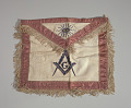 View Leather Masonic apron owned by H.C. Anderson digital asset number 3