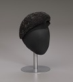 View Black beret with beaded details from Mae's Millinery Shop digital asset number 8