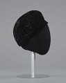 View Black beret with beaded details from Mae's Millinery Shop digital asset number 4