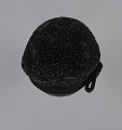 View Black beret with beaded details from Mae's Millinery Shop digital asset number 6