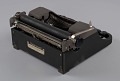 View Underwood typewriter and case digital asset number 5