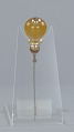 View Hatpin with amber and gold decorations from Mae's Millinery Shop digital asset number 5