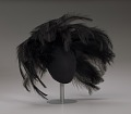 View Black feathered fascinator from Mae's Millinery Shop digital asset number 8