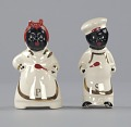 """View Pair of salt and pepper shakers in form of """"Mammy"""" and """"Chef"""" digital asset number 2"""