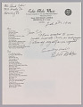 View Letter to Mr. Cohen from Eubie Blake regarding an autographed picture digital asset number 0