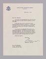 View Letter to Dizzy Gillespie from Edward R. Murrow regarding an African tour digital asset number 0