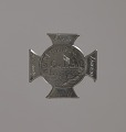 View Silver badge for George Washington Perkins of the 54th Massachusetts Infantry digital asset number 0