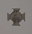 View Silver badge for George Washington Perkins of the 54th Massachusetts Infantry digital asset number 1