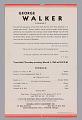 View Program for George Walker concert digital asset number 3