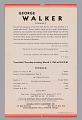 View Program for George Walker concert digital asset number 2