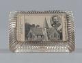 View Glass paperweight featuring Mt. Zion M.E. Church digital asset number 0