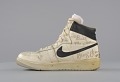 View Right shoe worn and signed by George Gervin digital asset number 2