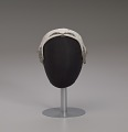 View Ivory cap with sequins and beading from Mae's Millinery Shop digital asset number 7