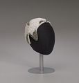 View Ivory cap with sequins and beading from Mae's Millinery Shop digital asset number 8