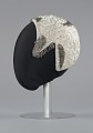 View Ivory cap with sequins and beading from Mae's Millinery Shop digital asset number 2