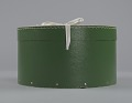 View Green circular hatbox with lid from Mae's Millinery Shop digital asset number 2