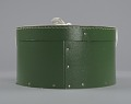 View Green circular hatbox with lid from Mae's Millinery Shop digital asset number 3