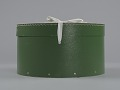 View Green circular hatbox with lid from Mae's Millinery Shop digital asset number 4